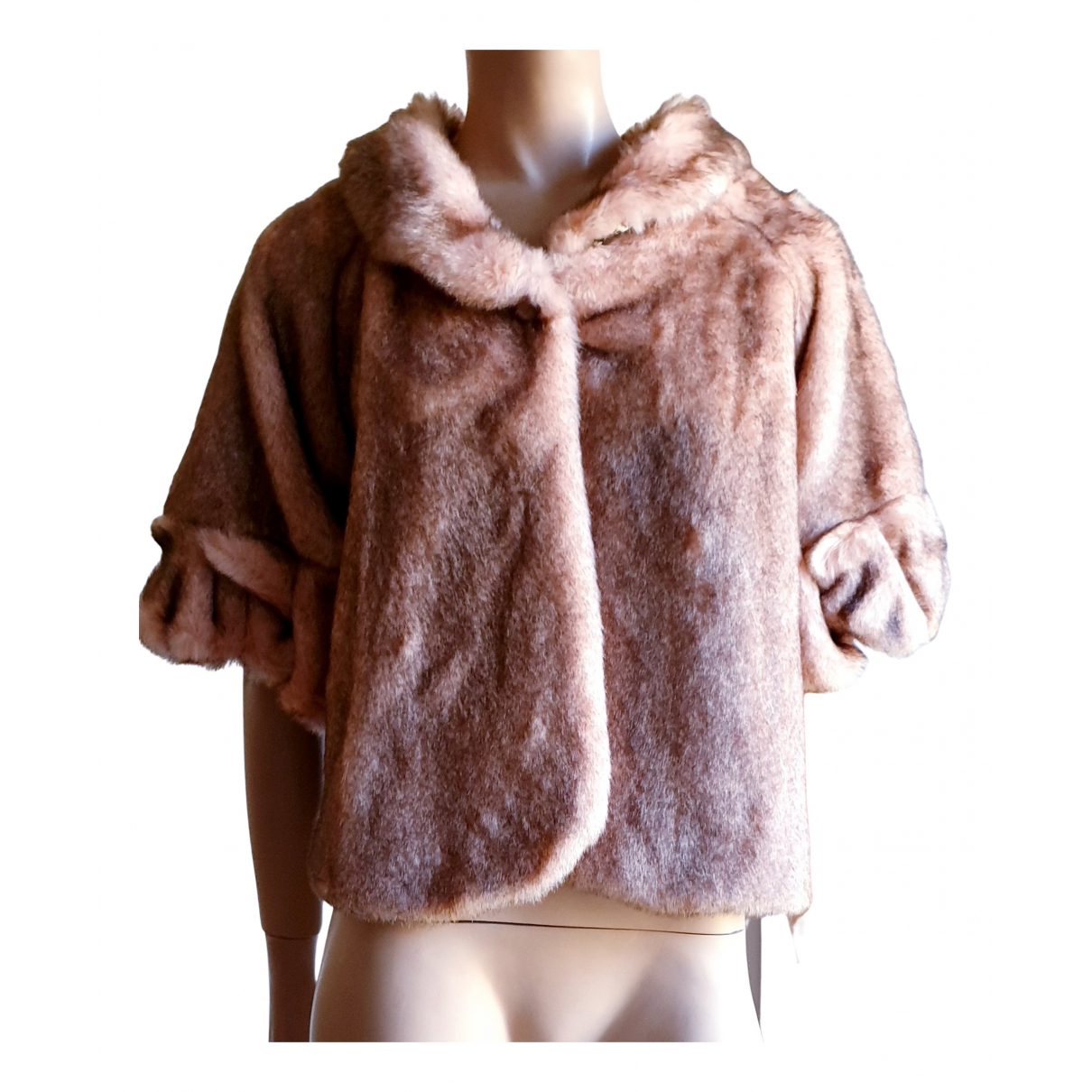 Liu.jo N Pink Faux fur coat for Women 42 IT