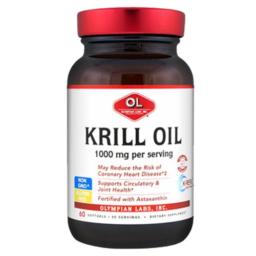 Krill Oil 60 softgels by Olympian Labs