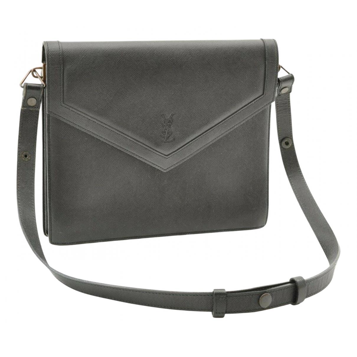 Saint Laurent N Grey Leather handbag for Women N