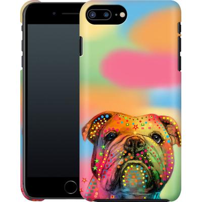 Apple iPhone 7 Plus Smartphone Huelle - Bulldog von Mark Ashkenazi