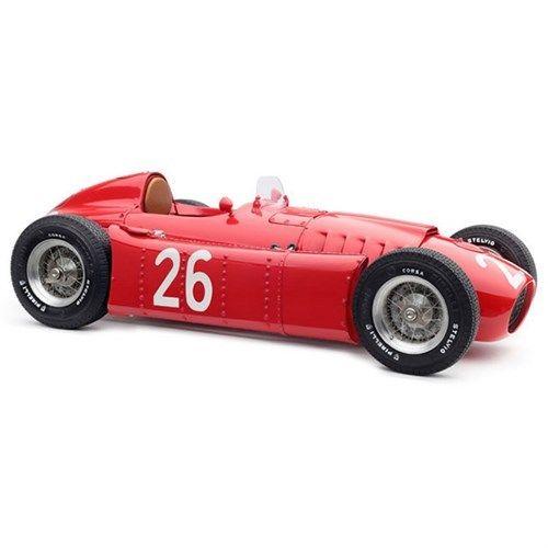 1954-1955 Lancia D50 26 1955 Monaco GP Alberto Ascari Limited to 1500 pieces Worldwide 1/18 Diecast Model Car by CMC