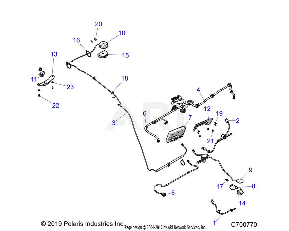 Polaris OEM 2413743 HARNESS-TEMP SENSOR