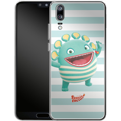 Huawei P20 Silikon Handyhuelle - Sorgenfresser Schnulli von Sorgenfresser
