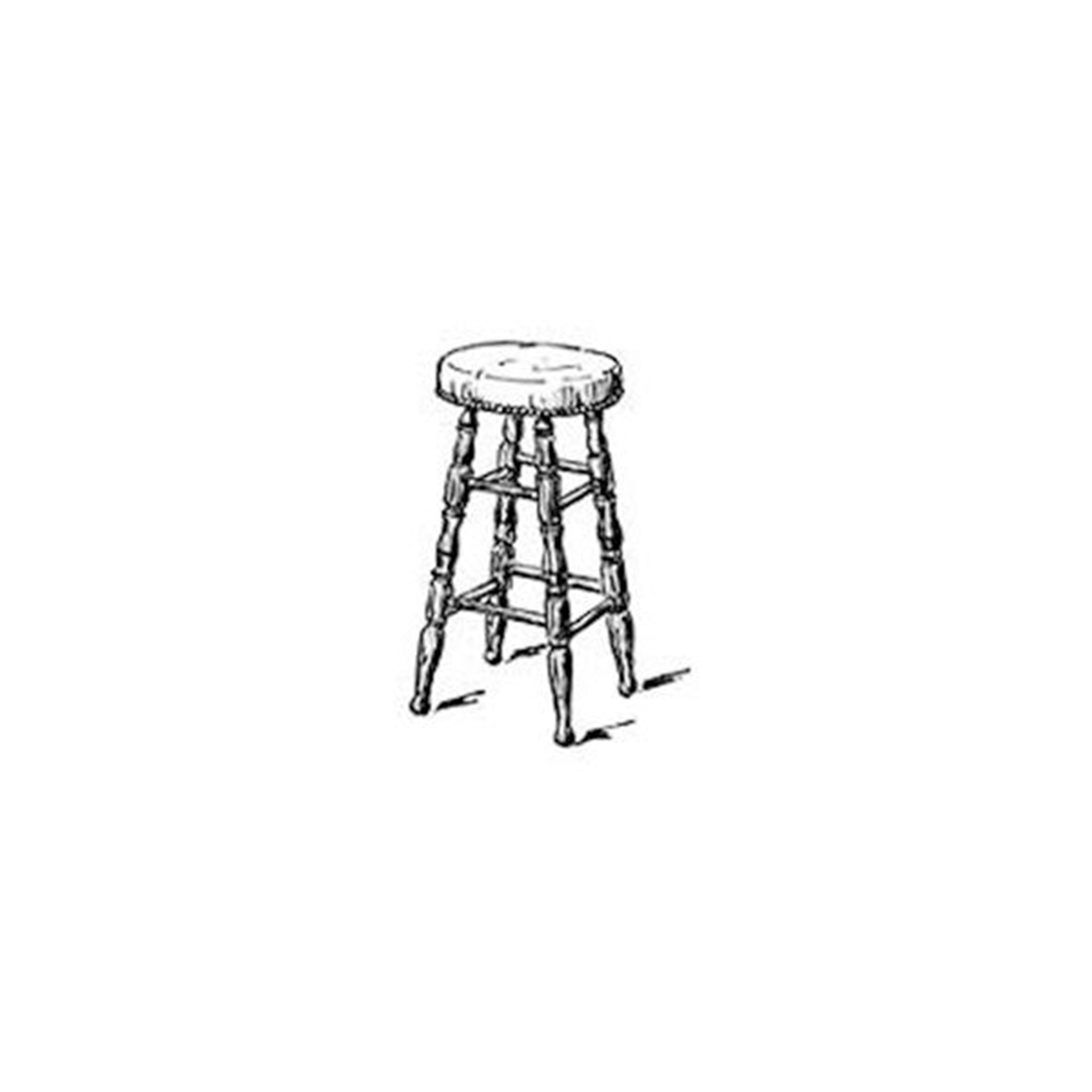 Woodworking Project Paper Plan to Build Bar Stool