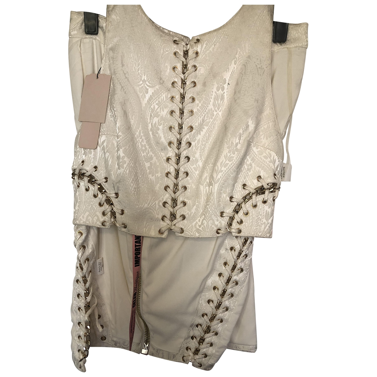House Of Cb - Robe   pour femme - blanc